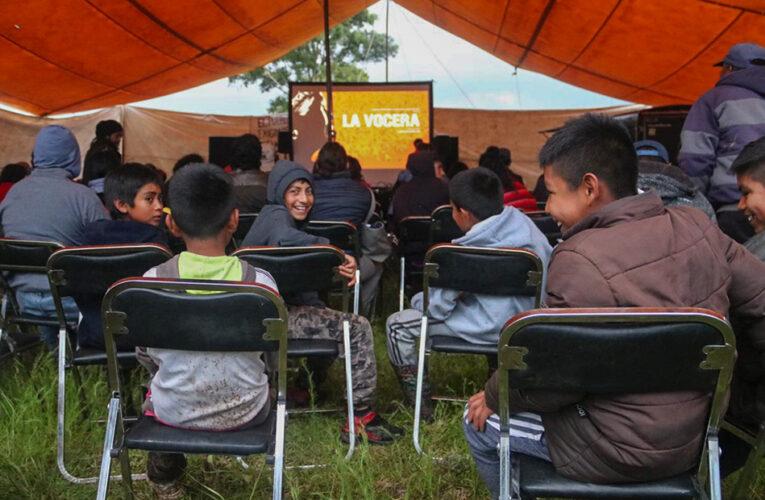 «La vocera» llega a Santiago Mexquititlán. Y pobladores refrendan defensa del territorio (Querétaro)
