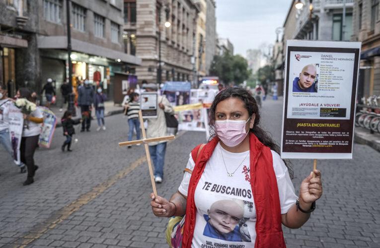Marcha silenciosa por las personas desaparecidas