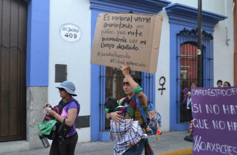 Colectivas feministas de Oaxaca resisten a la violencia de género con acompañamiento y orientación (Oaxaca)