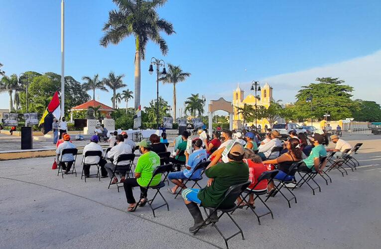 """""""Hacemos esta convocatoria para que el pueblo decida si estamos bien o mal"""" (Yucatán)"""
