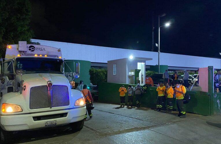Por protesta de empleados de PASA, suspenden servicio de recolección en el sur de León (Guanajuato)