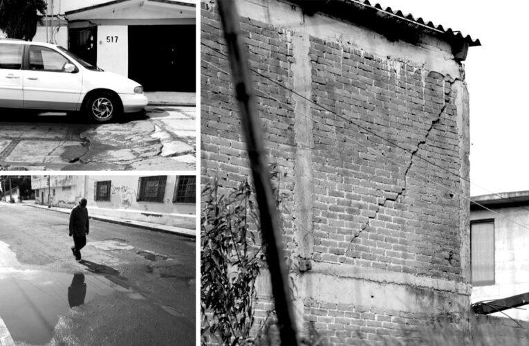 Extracción de agua de las industrias acelera hundimientos en Toluca (Estado de México)