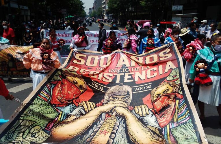 """""""A 500 AÑOS DEL INICIO DE LA RESISTENCIA"""" NO NOS CONQUISTARON SEGUIMOS EN RESISTENCIA Y REBELDÍA"""