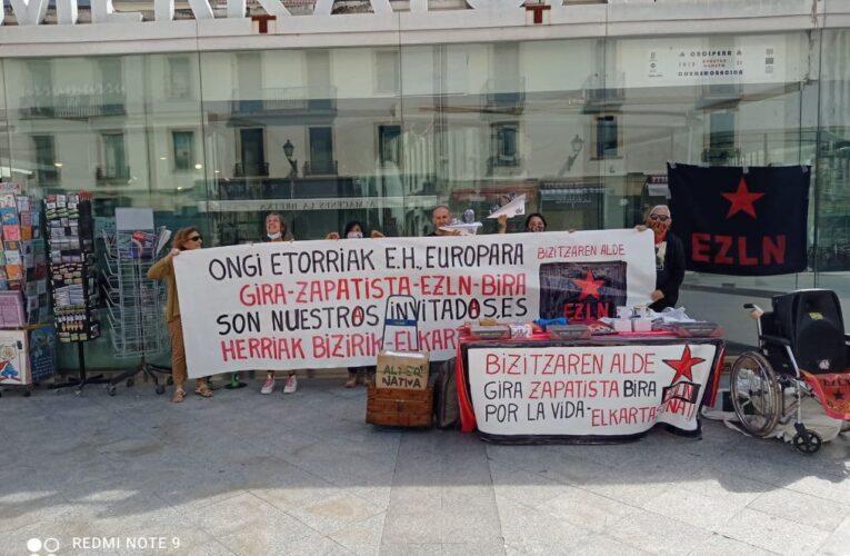 En Euskal Herria (País Vasco) organizan distintas actividades para recibir a la delegación del EZLN (VIDEOS Y FOTOS)