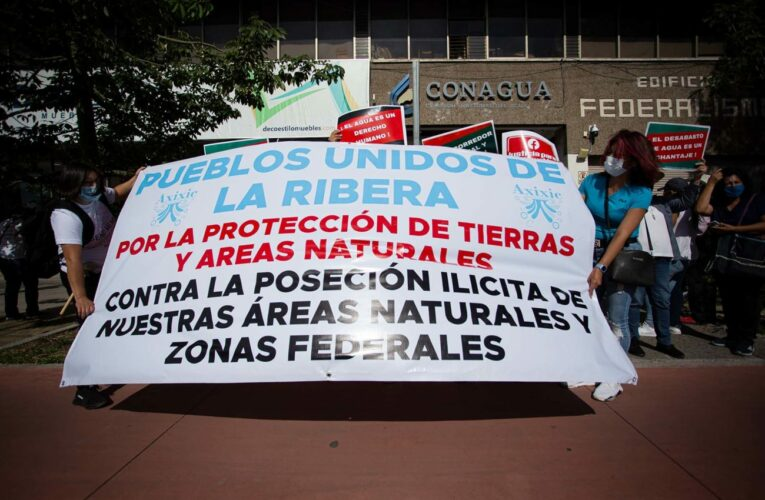 Comunidades ribereñas del Lago de Chapala exigen a Conagua liberar playas invadidas por particulares (Jalisco)