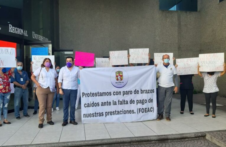 Paran trabajadores de Salud; no tiene material de protección ni insumos (Colima)