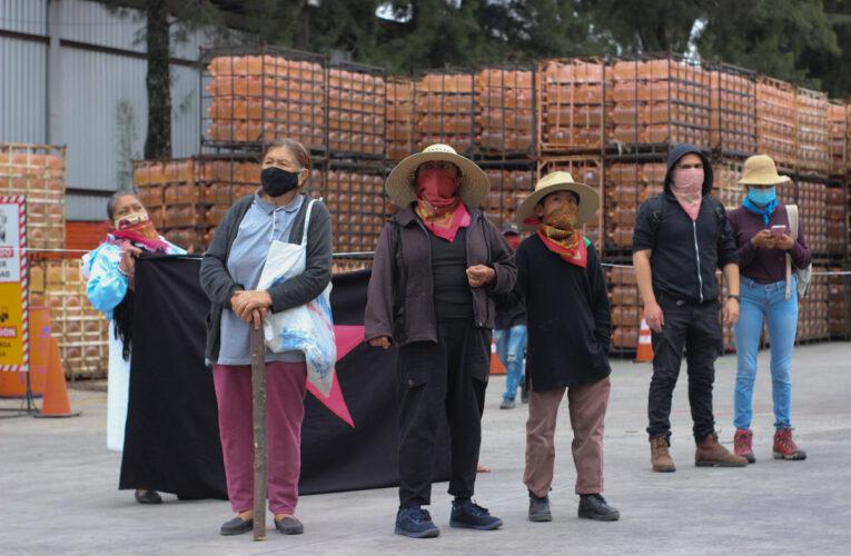 De planta de Bonafont a casa de los pueblos: comunidades toman embotelladora en Puebla
