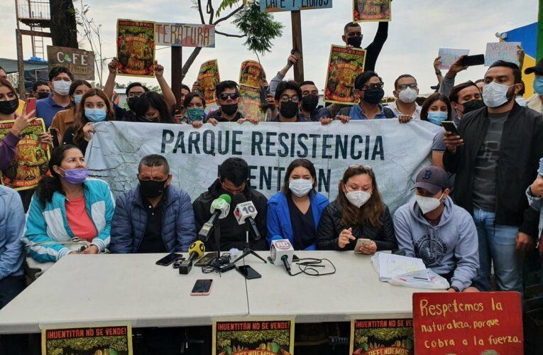 """""""No vamos a dar un paso atrás"""": la consigna tras el desalojo violento e ilegal del Parque Resistencia Huentitán (Jalisco)"""