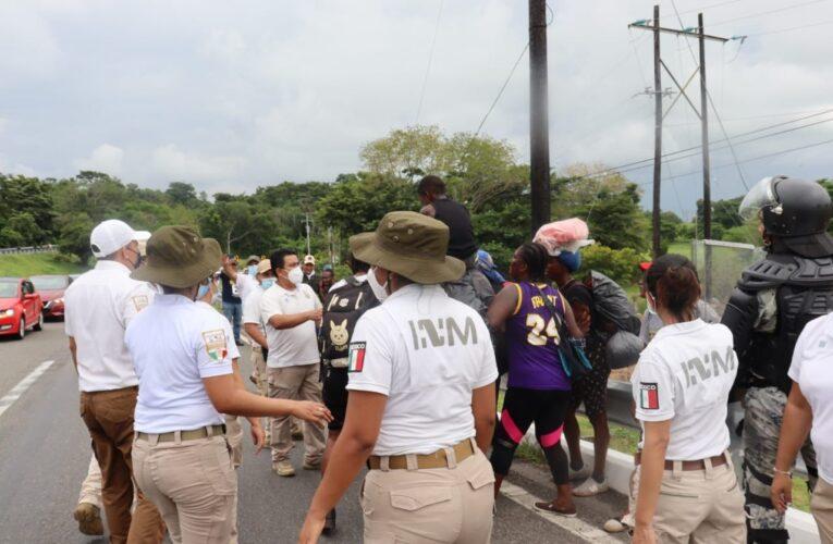 Colectivo acusa a la Guardia Nacional y al INM de uso excesivo de la fuerza contra migrantes