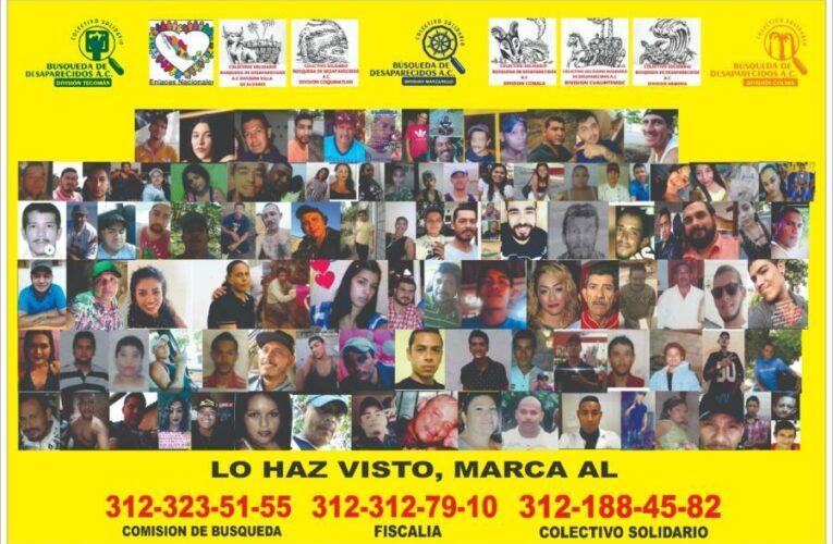 Realizará colectivo tecomense (Colima) búsqueda de desaparecidos en Michoacán