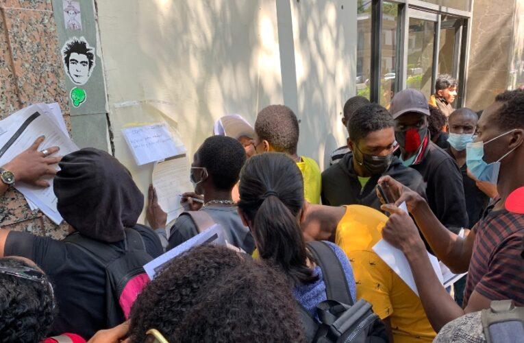 Haitianos llegan a CDMX en busca de refugio; albergues están saturados