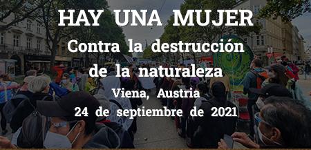 PALABRAS DE LAS COMUNIDADES ZAPATISTAS EN OCASIÓN DE LA MARCHA CONTRA LA DESTRUCCIÓN DE LA NATURALEZA.